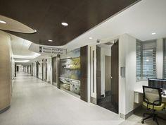 Lessons In Inpatient Unit Design Nurses Station, Healthcare Design, Medical Center, Common Area, Pavilion, Health Care, The Unit, Flooring, Interior Design