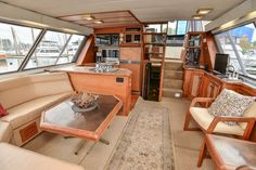 Bayliner 4550 Pilothouse boats for sale Pilothouse Boat, Grand Banks Yachts, House Yacht, Carver Yachts, Bayliner Boats, Expedition Yachts, Yacht Interior, Interior Design, Power Boats For Sale