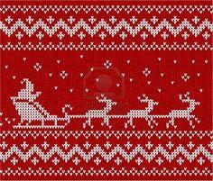 Ideas Knitting Christmas Sweater Cross Stitch For 2019 Knitted Christmas Stockings, Christmas Knitting, Christmas Sweaters, Knitting Charts, Knitting Stitches, Knitting Patterns, Christmas Charts, Christmas Cross, Cross Stitch Borders