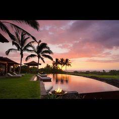 can you see yourself enjoying the beautiful sunset view here - Versunkene Feuerstellen Ideen