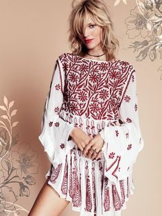 Free People Weave Together A Love Story Top at Free People Clothing Boutique