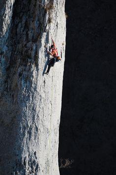 Siniša Škalec stays in the light on Crna Mačka Vela Draga, Croatia. Kinds Of Story, Climbing, Nature Photography, Scenery, Candles, Art, Nature Reserve, Hiking Trails, Rock Climbing