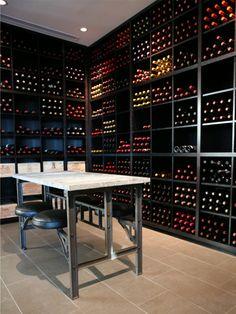 Modern Wine Cellar Jackson