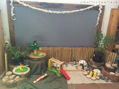 sharing ideas on early childhood play provocations and learning environments