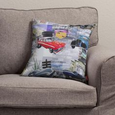 Pillow  #dekoriapl #childrenroom #oillow #cars #colorful #decorations #inspirations #childhood #child #funny #enjoy #baby #bed #bedding #room #bed