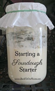 Learn how to start a sourdough starter, step-by-step, for the full 7 days until it& strong enough to start baking with. Learn how to start a sourdough starter, step-by-step, for the full 7 days until its strong enough to start baking with. Amish Recipes, Cooking Recipes, Rock Crock Recipes, Braai Recipes, Kitchen Aid Recipes, Artisan Bread Recipes, Yeast Bread Recipes, Sourdough Bread Starter, No Yeast Bread