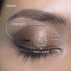 If u could have a personal makeup artist for a day, what makeup tip/trick would u like to learn?  Here's a great diagram on where to apply different eye pigments! U can create this look easily with the July kudos & a highlight pigment like Sexy or Curious!!