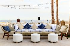 Weddings by Velas Resorts: Luxury All-Inclusive Weddings in Mexico 5 Star Resorts, Mexico Resorts, All Inclusive, Destination Wedding, Wedding Ideas, Luxury, Beach, Blue, Furniture