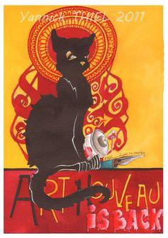 Le Chat Noir, Yannick Thiel
