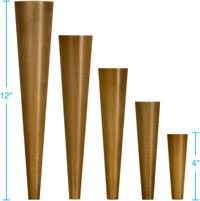 MOTHERLODE. Wood furniture legs for mid-century modern & Danish modern tables, case pieces & seating. Variety of wood species & sizes. Great pricesfor building, repairing, replacing. Site also carries both straight & angled attachment hardware.