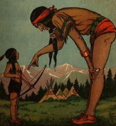 Algonquin Indian Legend of Giant Race in the Ohio Valley
