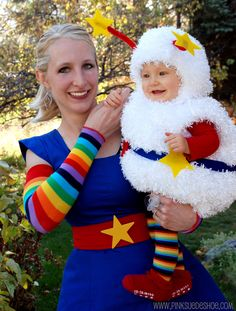 LOVE this! Rainbow Brite and Twinkle the sprite.
