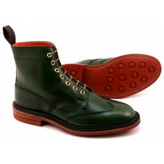 Tricker's Auserity Stow Green Calf