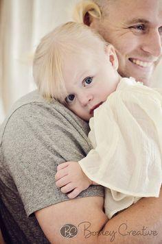 Daddy & Daughter Photo Shoot at the Bosley Creative Studio