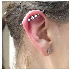 Can I just have an industrial piercing so I could have this bar?!?!