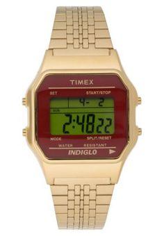 TIMEX ORIGINALS CLASSIC DIGITAL - Zegarek cyfrowy - gold