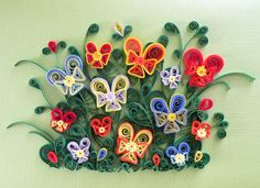 art of quilling | Paper quilling can be used to do a great variety of designs such as ...