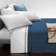 Trussardi - Casato Tagesdecke - Blau Jetzt bestellen unter: http://www.woonio.de/produkt/trussardi-casato-tagesdecke-blau/