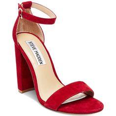 c62837f5406 Steve Madden Women s Carrson Ankle-Strap Dress Sandals (1.930 CZK) ❤ liked  on