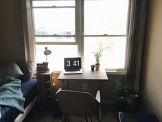nfolkdesign:  Just moved into my old room at my parents house for the summer and redid things so I feel more at home