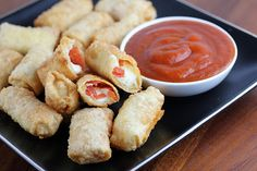 Pizza Rolls Recipe - Free Online Recipes | Free Recipes