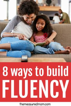 This post will give you a variety of fluency activities that will help your readers in kindergarten, first grade, second grade, third grade, and even higher! Fluency Activities, Literacy Games, Reading Activities, Kindergarten Literacy, Literacy Stations, Early Literacy, Reading Resources, Classroom Resources, Reading Response