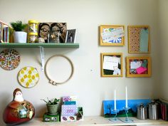 Floral Cork Boards