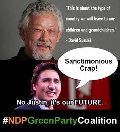 #Canada #Environment #Sustainability #BigOil #DavidSuzuki #canpoli #elexn42