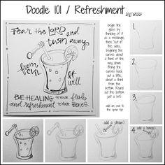 BAJ:Doodle101:Refreshment:pm:Sue Carroll