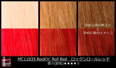 #RocknRollRed rocks on any shade of #hair! See how the color takes to different…