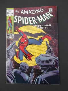 Amazing Spider-Man #70! Silver Age! 1969! 1st Vanessa Fisk! Marvel! Stan Lee!