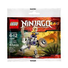 Lego Ninjago 30291 Anacondrai Battle Mech Set New/Sealed! 43pcs BNIP Fun Toy/Set #LEGO