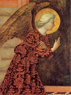 Tomasso di Cristoforo Fini / The Archangel Gabriel ou masolino da panicale