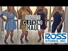summer clothing haul try on 2016 - YouTube