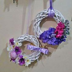 #wianki #wreath #spring #Easter #design #decorations #handmade #DIY #homedeco #flowers