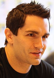 "Sam Witwer of ""Being Human""...aka Aidan, the latest and greatest in my wall of vampires"