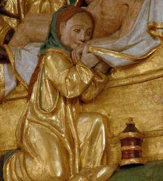 Magdalena Arle, Ostfriesland, Bonifatiuskirche, altar, detail