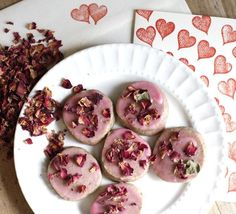The Persian Rose Love Spell Cookie. Original recipe from Liza Belle for Tay Tea  in Andes, NY.