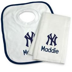 New york yankees towel and wash cloth gift set new york yankees at new york yankees towel and wash cloth gift set new york yankees at personalized gifts for babies and big kids at designs by chad and jake pinterest negle Choice Image