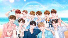 Wanna one (anime version) Xavier Rudd, Jinyoung, Haikyuu Season 2, Harry Potter Ships, Guan Lin, My Big Love, Anime Version, Fandom, Ha Sungwoon