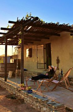 Kick back and relax at Kerneelia Kothuis; a quaint and secluded cottage with a wonderful mountain views on a Klein Karoo farm near De Rust.  #TravelGround #cottage #Karoo #travel