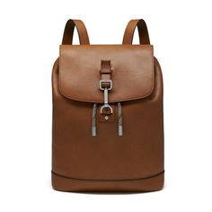Everyday practicality with classic styles - Small Marty Backpack in Oak Calfskin