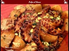 Pulpo al horno - recetas de cocina faciles de hacer - YouTube