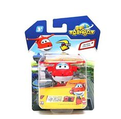 SUPER WINGS 4ITEMS HOGIARIDONNIE AND JEROME MINI TRANSFORMER Korean toy Korean animation by Super Wings *** To view further for this item, visit the image link.Note:It is affiliate link to Amazon.