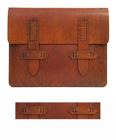 I don't have an ipad. But if I did I would totally put it in this! I love the cognac color.