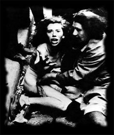 The photo is one of a series showing women being stripped, harassed and chased by civilians as chaos led to rapes and killings after the Germans captured Lwów, POLAND (now Lviv, Ukraine) from the Soviets. Ukraine, Reportage Photo, Religion, Iconic Photos, Ww2 Photos, Photographs, Anne Frank, Interesting History, The Victim