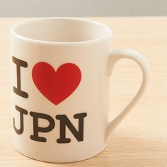 """Do you love Japan? Do you really love it? Well then, if your answer was yes, you ought to really love this mug which echoes all those famous """"I Heart X"""" slogans you find all over the world! Demonstrate your love for the country that's so great it no longer needed its vowels for us to still recognize its name with this nifty ceramic mug. (Just don't take it to the office if your boss happens to be ..."""