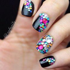 43 cool nail designs Via Womenstime.net