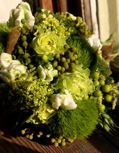 green wedding flowers green reception wedding flowers,  wedding decor, wedding flower centerpiece, wedding flower arrangement, add pic source on comment and we will update it. www.myfloweraffair.com can create this beautiful wedding flower look.