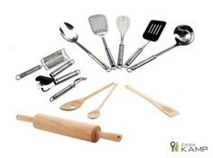 Kit de 12 Utensilios de Cocina Casa Kamp http://hogar.mequedouno.com.mx